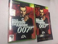 007 DALLA RUSSIA CON AMORE   USATO PAL X BOX-