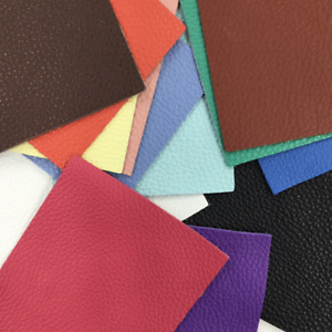 """""""Tried and True"""" Collection Solid Color Leather Packs Pre-Cuts Cow Hide 3-4 Oz"""