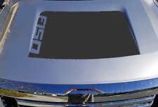 Ford F150 MATTE BLACK Blackout Vinyl Hood Decal 2009 2010 2011 2012 2013 2014