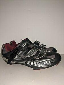 Giro Solara Cycling Shoes Women's Size 9.5 Black C1