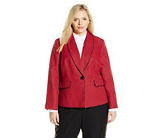 Le Suit Womens  One Button Jacket Size 12 # C 237