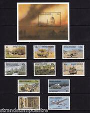Grenada (Grenadines) - 1990 50th Anniversary of WWII - U/M - SG 1242-51 + MS1252