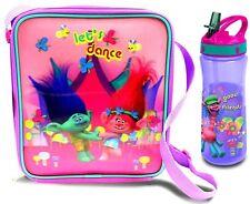 DreamWorks Trolls Lenticular Lunch Bag and Bottle *BRAND NEW*