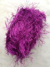 Fun Fur Yarn Eyelash Yarn Fancy Fur Solid Color & Skein Qty at Choice
