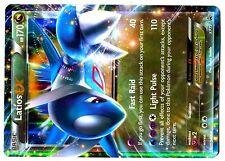 PROMO POKEMON HOLO N° XY72 LATIOS EX 170 HP Attack 110