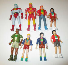 1991 Captain Planet And The Planeteers Action Figure Lot