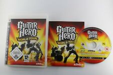 PLAY STATION 3 PS3 GUITAR HERO WORLD TOUR COMPLETO PAL UK