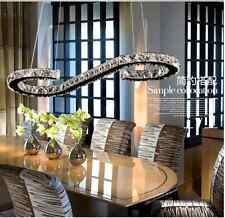 LED Crystal Kitchen Island Chandelier Dining Room Ceiling Lamp  Light 60cm