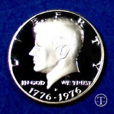 1976 S Clad Proof Bicentennial Kennedy Half Dollar-Gem Proof
