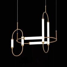 Modern Luxury Gold  White Pendant Lamp Chandelier Living Room Bedroom Bedside