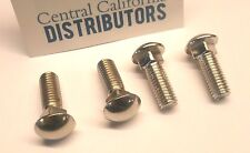 VW Bug Bus Ghia Bumper Carrier Bolt Set of 4 Short Bolts 113707191C 8mm x 15mm