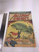 Action Comics #1 (1976, DC Comics) Safeguard Giveaway Reprint Superman 1st App