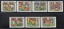 Tanzania1994  Soccer World Cup Sc 1174A-G Mint Never Hinged