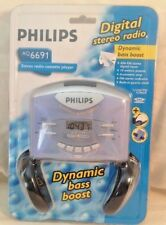 New in Package Phillips AQ6691 Cassette Player Digital Stereo Radio