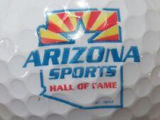 (1) ARIZONA SPORTS HALL OF FAME LOGO GOLF BALL