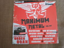 METAL HAMMER CD Maximum Metal Vol. 158 Orden Ogan Silverlane Hardbone