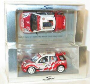 1/43 Suzuki Ignis S1600  JIPOCAR  Rally Monte Carlo 2005  #43  M.Prokop