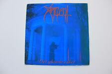 "Ancient  – Det Glemte Riket   Blue Vinyl 7"" + flyer"