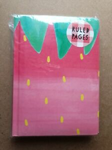 Paperchase Strawberry A6 size Notebook. New.