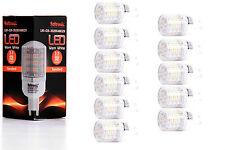 11X G9 LED Lampe von Seitronic mit 3 Watt, 240LM und 48LEDs - Warm weiß 2900K