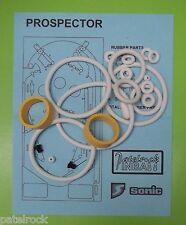 1977 Sonic Prospector pinball rubber ring kit