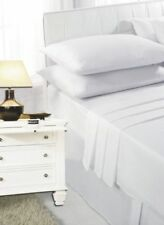 Linge de lit et ensembles blanc coton mélangé modernes