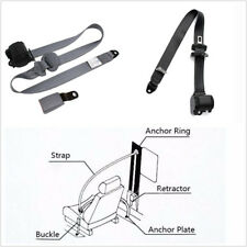 Universal 3Point Adjustable Heavy-Duty Nylon Car Safety Seat Belt Strap Seatbelt