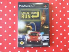 DOWNTOWN RUN PLAYSTATION 2 ps2 in scatola originale con istruzioni
