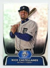 2012 Bowman Platinum NICK CASTELLANOS Rookie Card RC #BPP97 Cincinnati Reds