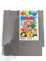 RARE! Kickle Cubicle ORIGINAL NINTENDO NES GAME CARTRIDGE Tested WORKING!