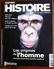 Notre Histoire n°196 du 2/2002; Les origines de l'homme/ Islam et pétrole