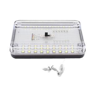 36 LED Car Interior Dome Light Roof Reading Trunk Lamp 12V Night Light White