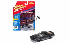 Johnny Lightning Pontiac Firebird 1985 Gris JLCG011B 1/64 Ltd 1800 Pièces