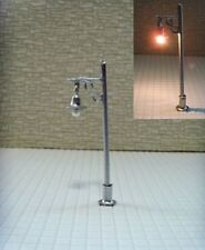 S103 - Set 10 Stück Lampen Straßenlampen nostalgisch 1-flammig 5cm Parkleuchten