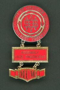 Society of American Magicians Membership Enamel Pin Vice President ERROR RARE !