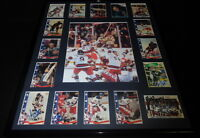 1980 Miracle on Ice USA Hockey Team Signed Framed 16x20 Photo Display F