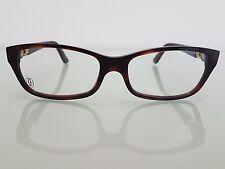 Cartier Trinity Luxury Tortoise Eyeglasses 55-15 Hand Made in France RP 540$