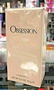 "Calvin Klein ""Obsession"" Antiperspirant (NET WT 2.5 oz/ 75g) Company Sealed"