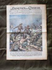 La Domenica del Corriere 22 Marzo 1936 Duca di Bergamo Truppe in marcia Africa