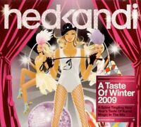 HED KANDI - A TASTE OF WINTER 2009 various (sealed CD, mixed, 2008) house, 2008,