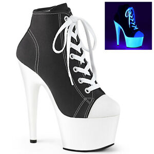 """PLEASER Adore-700sk-02 7"""" Heel Shoe"""