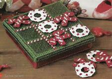 Christmas Tic-Tac-Toe Game plastic canvas PATTERN INSTRUCTIONS
