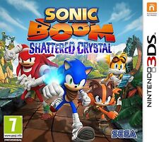 * NINTENDO 3DS NEW SEALED GAME * SONIC BOOM Shattered Crystal * NL Pack