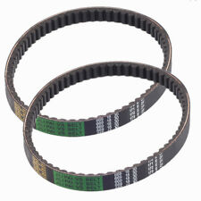 2 Set Drive Belt 669-18-30 FOR GY6 QMB/QMA 139 4 Stroke & 49cc 50cc Scooters
