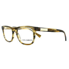 43da1c9d2c8 Dolce   Gabbana Glasses Frames DG 3257 3063 Striped Brown 52mm Mens