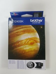 Brother Genuine LC1240BK Black Cartridge. New and Unopened