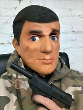 ACTION MAN HERO GI HUMAN MALE DOLL LATEX MASK TOY FANCY DRESS STAG COSTUME