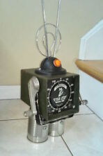 Repurposed Metal Sculpture Alien Robot Android Art Sci Fi Steampunk Roswell UFO
