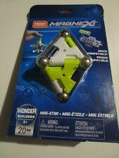 New Mega Construx Magnext Mag Star Set Wonder Builders 20 Pcs