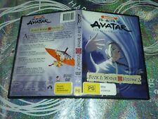 NICKELODEAON AVATAR THE LEGEND OF AANG : BOOK 1 WATER VOLUME 2 (DVD, PG)
